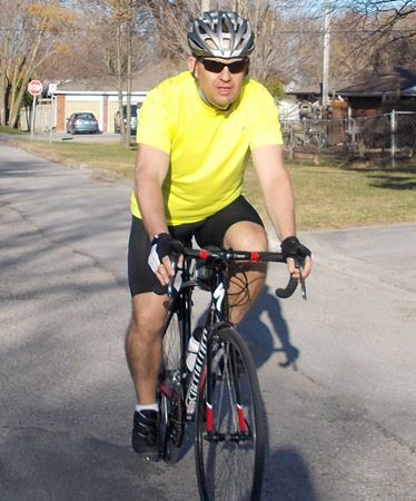 Beeton man training for Ride to Conquer Cancer