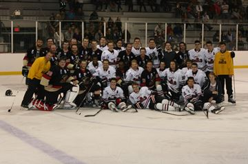 Two sides come together for Shield alumni game.