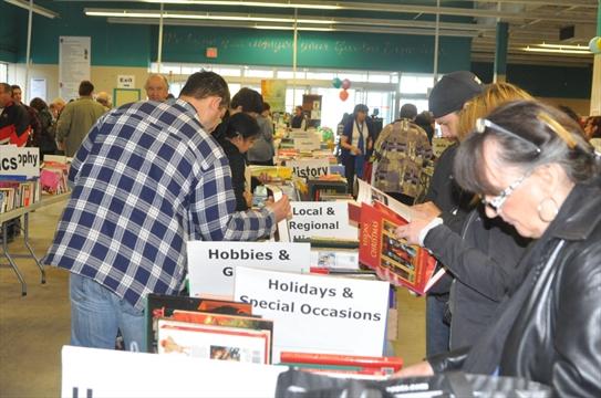 Booksale success