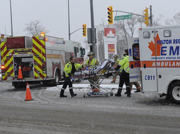 Burlington accident caused by driver in medical distress: police
