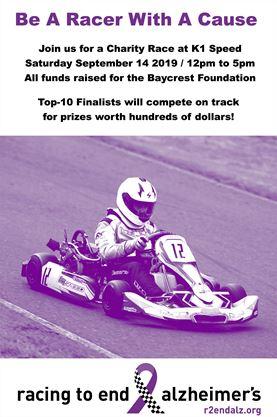 Racing to End Alzheimer's Fundraiser on September 14,2019