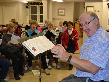 Sound Investment Choir holding concerts in Collingwood, Creemore