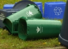 Green bins