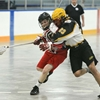 Junior B lacrosse Regals vs. Mohawks