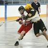 Junior B lacrosse Regals vs. Mohawks