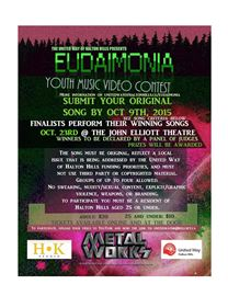 Music video contest for youth