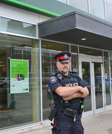 Downtown Barrie TD Bank robbed