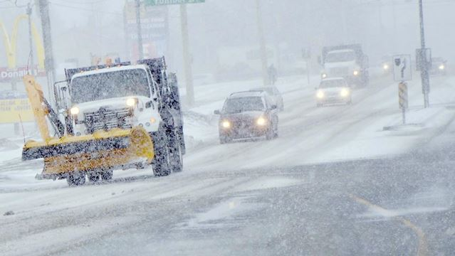 Newmarket snow storm