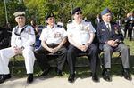 Oakville students help unveil plaque at Bronte Veterans Garden ceremony