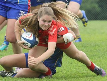 Oakville Trafalgar loses OFSAA girls' rugby final on controversial call