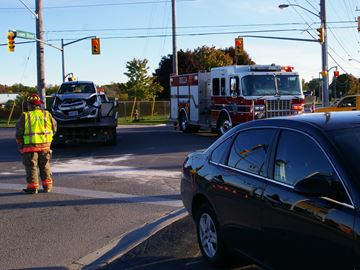 Collision in Orillia's south end