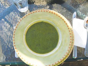 Wild Leek Soup