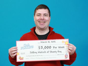 Shanty Bay man wins Instant Double Cash For Life