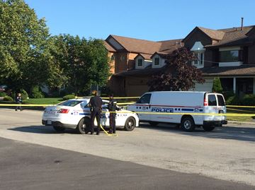 Stabbing death in Pickering