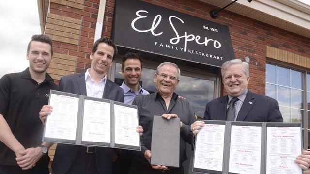El Spero Restaurant Menu