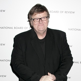 Michael Moore's battle with pneumonia-Image1