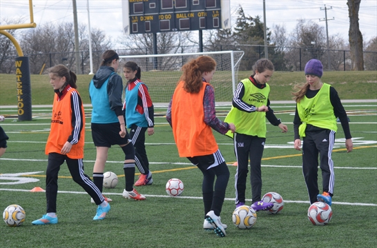 Kids In Sports Players Get Kick Out Of Spring Soccer Camp