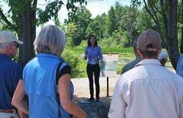 Motts Mills conservation area opens