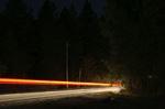 Highbeams at night