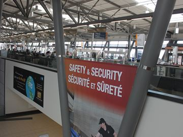 Arrest at Ottawa International Airport