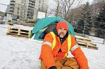 Tenting for a cause