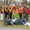 Earth Day cleanup in Midland