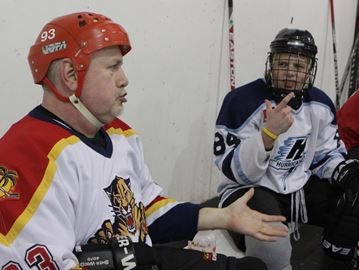 Three deaf shinny sessions in Oakville this spring