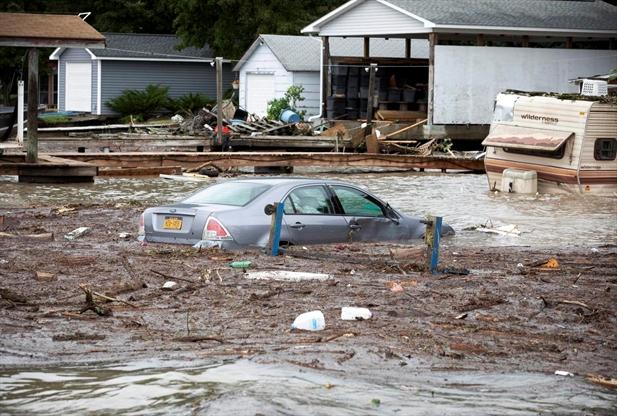 Flash floods rip through Finger Lakes ...