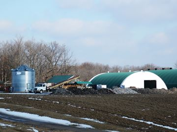 Industrial accident at White Meadows Farms