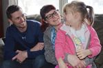 Pontypool family seeks help to get daughter on her feet