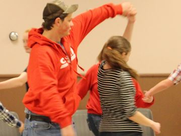 Carleton 4-H Square Dancing Club swings way to achievement day
