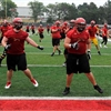 Gryphon football training camp