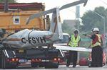 Plane Crash On Lansdowne Street West