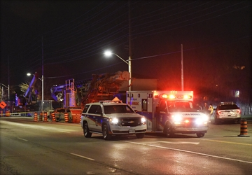 A male in his 30s is dead after being extricated from a underground tunnel construction site on Cawthra Road at Hyacinthe Boulevard,south of Burnhamthorpe Road.