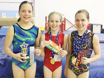 North Simcoe gymnasts excel at Ontario championships