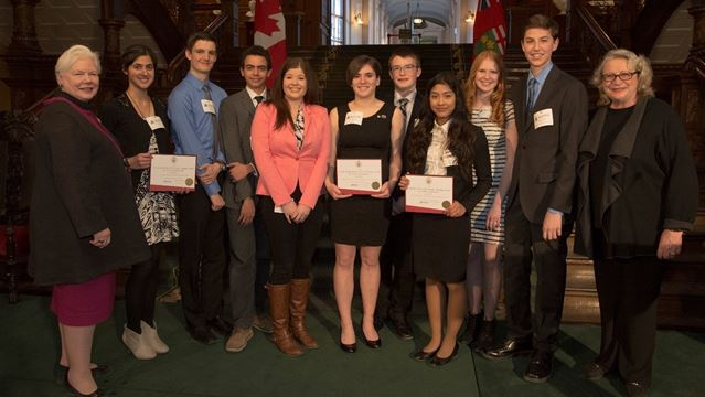 Ontario Heritage award winners from SDFCI