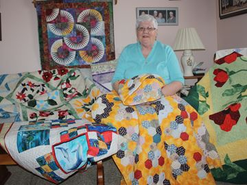 Featured quilter