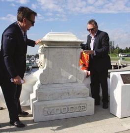Susanna Moodie monument added to Belleville waterfront– Image 1