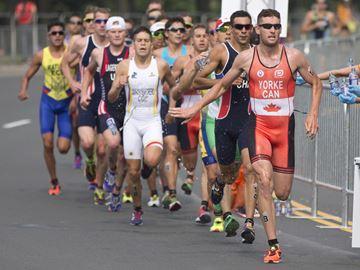 Yorke finsihes 42nd in men's triathlon
