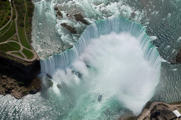 Updated: Man survives being swept over Horseshoe Falls