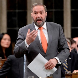 Quotes from Mulcair's letter to supporters-Image1