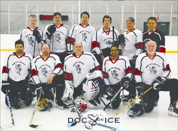 Local doctors, Sons of Lanarky, hit the ice in for mental health– Image 1