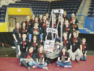 All Saints robot team