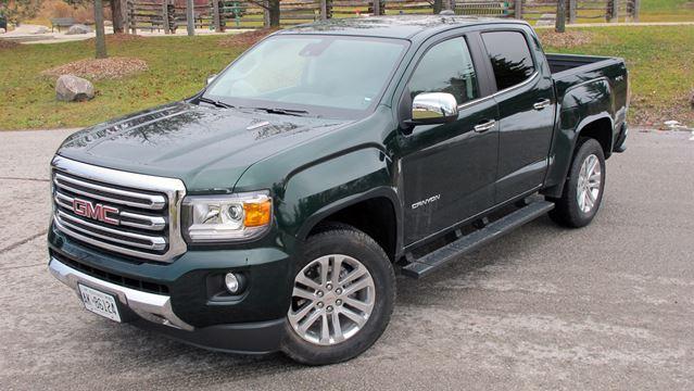 road test gmc canyon slt 4wd diesel is a mid size pickup. Black Bedroom Furniture Sets. Home Design Ideas