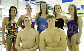 Trials swimmers