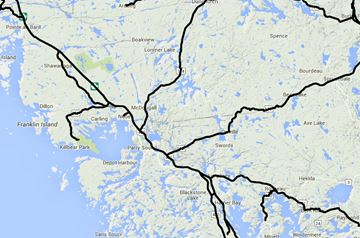 Parry Sound and area road report