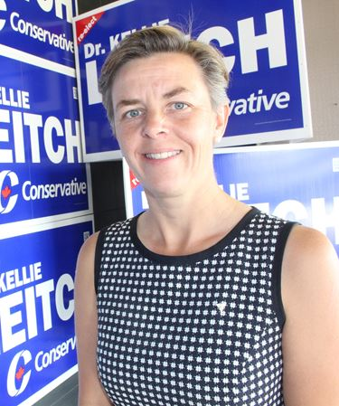 Simcoe-Grey Conservative incumbent Kellie Leitch