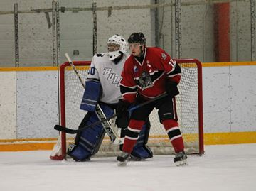 Knights of Meaford lose their cool and the game