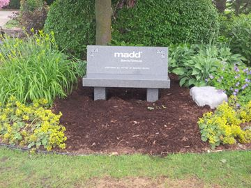 MADD benches another reminder of drinking and driving in Simcoe County