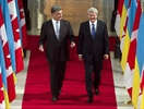 Poroshenko and Harper
